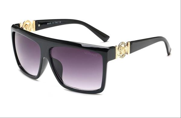 High Quality Classic Pilot Sunglasses Designer Brand Mens Womens Sun Glasses Eyewear Gold Metal Green 58mm 62mm Glass Lenses Brown Case