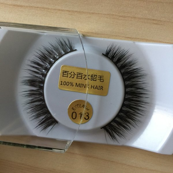 3D Mink False Eyelashes Natural Looking Real Mink Lashes Best Quality Private Label Slip Box Product FDshine