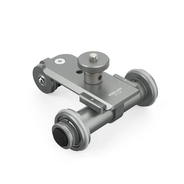 wholesale PPL-06 Mini Motorized Electric Track Slider Dolly Car 3-Wheel Video Pulley Rolling Skater for DSLR Camera Camcorder