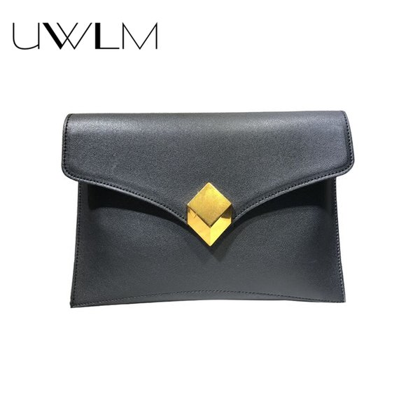 1365dee1bb46 Women Large Evening Clutch Bags Luxury 2018 Handbags Simple Envelope Office  Party Clutch Wallet Leather Crossbody Shoulder Bag Clutch Handbags From ...