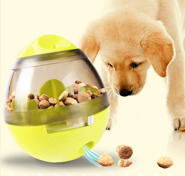 Fun Adjustable Pet Toys Tumbler Balls Interactive Cat Dog IQ Food Treat Ball Smarter Food Leaking Bowl Eating Sport Playing Training Toy