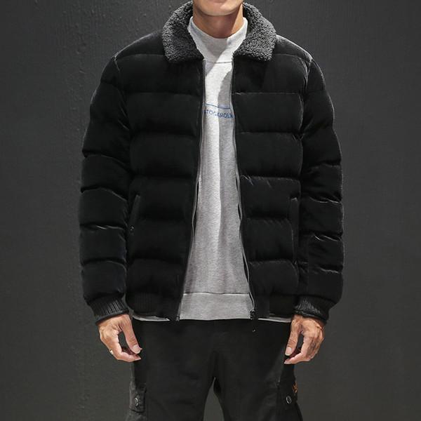 M-3XL mens giacca calda da uomo cappotto invernale uomini parka spessi sciolti mens termica giacche e cappotti invernali