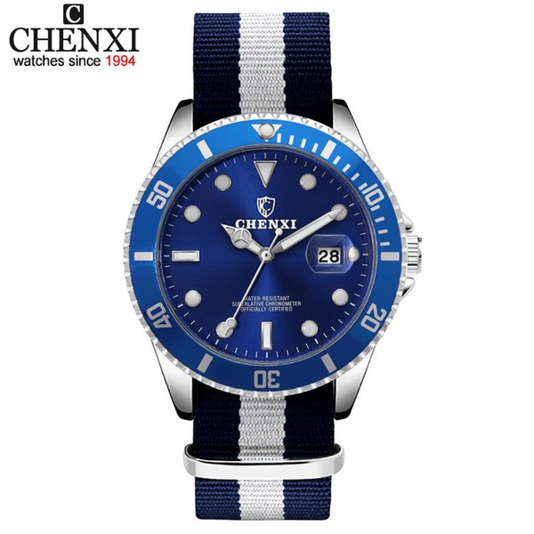 CHENXI Men New Fashion Watches Style For Man Quartz Waterproof Male Business Clock Wristwatches Reloj Hombre