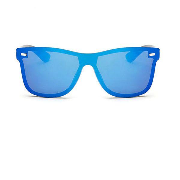 MLLSE Fashion Sunglasses For Men Conjoined Frame Stylish Vintage The New Personality Eye Wear UV400 Men Sunglasses
