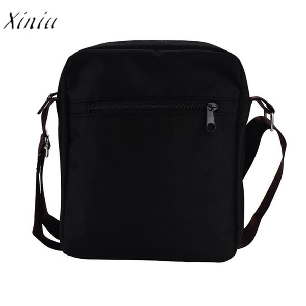 Xiniu Vintage Men's Shoulder Bag Canvas Men's Crossbody Over Shoulder Messenger Bags Handbag Leisure Travel Bag 2017 New