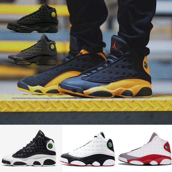 2019 gato negro canasta zapatos de pelota 13 13s Hyper Royal Olive Wheat GS Bordeaux DMP Chicago hombres mujeres zapatos Deportes al aire libre Zapatillas