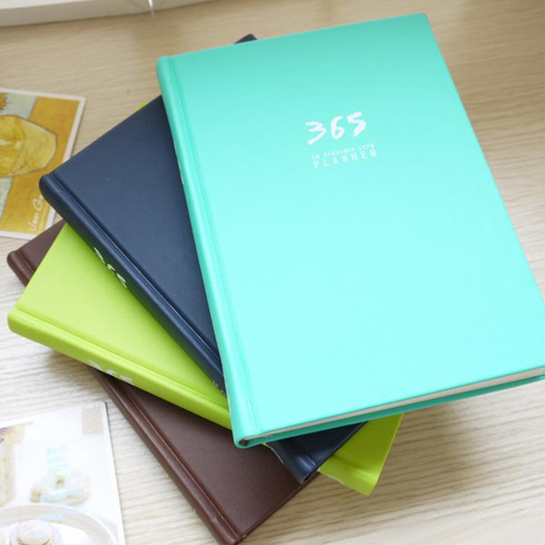 Creative Chinese Stationery Notebook Simple Mini Pocket Hand Book Year Weekly Planner Agenda Diary Filofax Journal Notepad