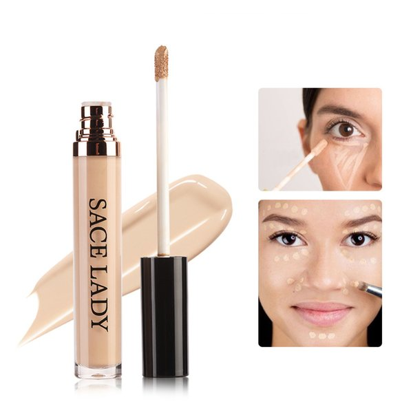11.11 Sales 6ml Full Cover Pro Makeup Concealer Cream Face Corrector Liquid Make Up Base For Eye Dark Circles Facial Natural Cosmetic