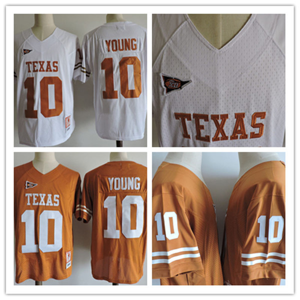 new styles 3309e 8b8ce 2017 Mens Kids Womens Ncaa College Texas Longhorns Vince Young Jerseys  Stitched #10 Vince Young Texas Longhorns Throwback Jersey S 3xl From ...