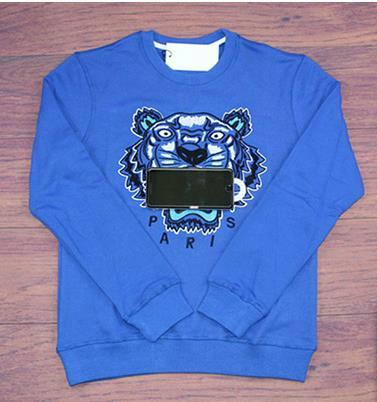 Marke Tiger Head Hoodie Bestickt Männer Frauen Sweatshirts Herbst Winter Unisex Hoodies Designer Casual Streetwear Jogger Tops