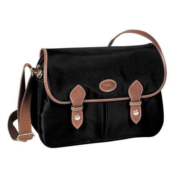 Cheap Women's Stylish Waterproof Nylon Shoulder Beach Bag Sale Messenger Bag Black Beige Fashion Handbags women free shipping Cross Body