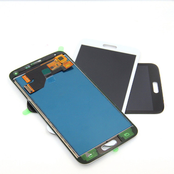 Lcd G900 per Samsung Galaxy S5 LCD SM-G900 SM-G900F G900 Display LCD Touch Screen Digitizer Assembly copia Luce regolabile