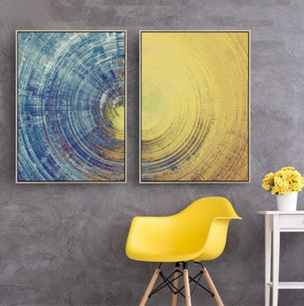 Dekorative Leinwand Malerei Abstrakte Bilder Modernen Minimalistischen  Konzept Kein Rahmen Ölgemälde Vertikale Rechteck