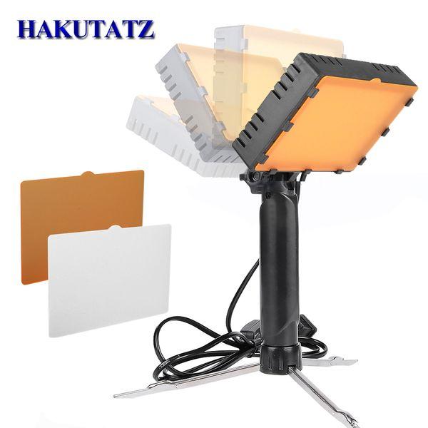 Photo Studio Kit Prise de vue sur table à LED 5600K Bureau Photographie Prise de vue Portable Lampe à main portable Panneau à LED Éclairage vidéo