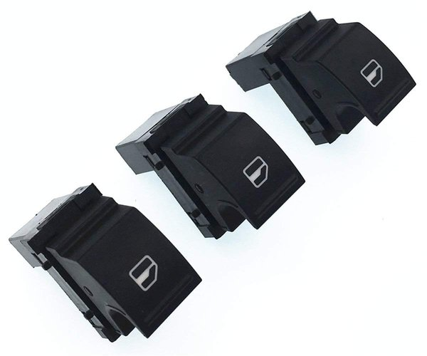 For VW Jetta MK5 MK6 Golf GTI Rabbit Passat Tiguan Car Window Lifter Switch Auto Side Power Window Switch Control Button