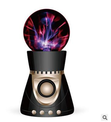 Magic ball creative bluetooth speaker touch the night light lamp bluetooth audio electrostatic induction current low tone gun card