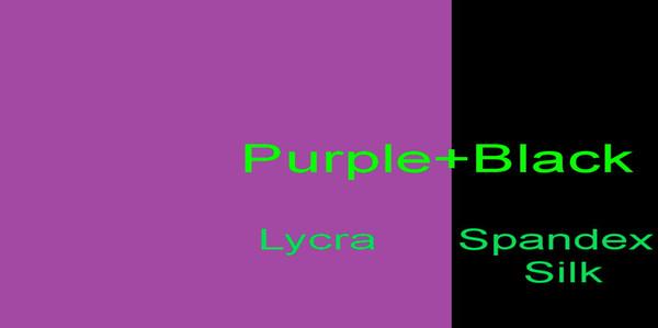 Фиолетовый + черный