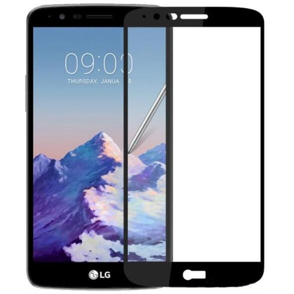 2.5 D полное закаленное стекло для Samsung J3 J5 J7 2017 J7 премьер ZTE Zmax Pro z981 LG K20 Aristo LG Stylo 3