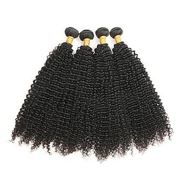 Une très faible remise brésilienne Remy Hair Weave 1pc brésilien Kinky Curly Hair 100% Extensions de cheveux humains