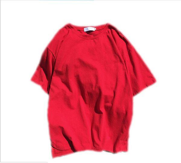 T-shirt de mangas curtas somanrypeople li homens de verão personalidade carta de design tendência tamanho grande T-shirt versão coreana do corpo magro impressão T-shirt