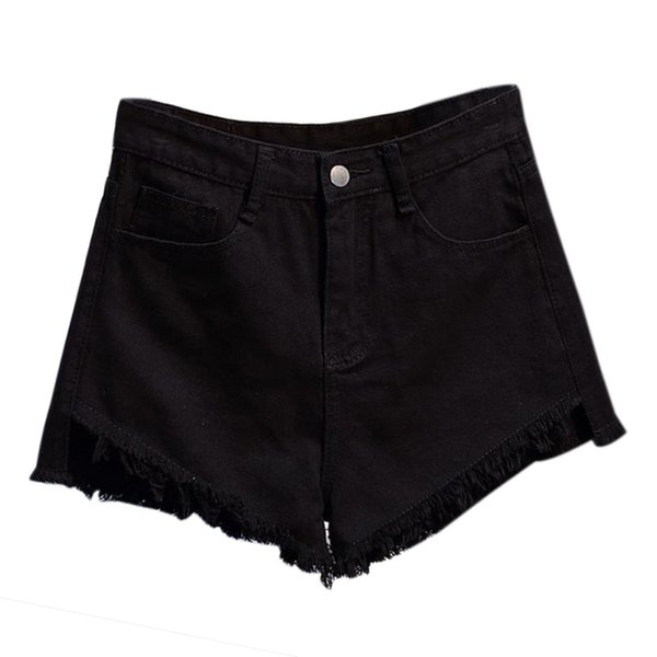 Vintage High Waist Denim Shorts Women 2018 Europe Style New Fashion Brand Slim Casual Femme Short Jeans For Summer Streetwear