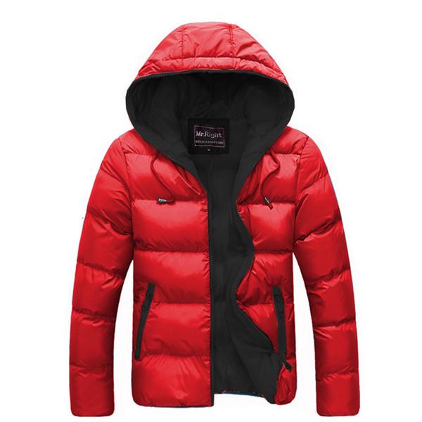 La MaxPa2017 Brand Men Cotton Jacket Zip Hooded Winter Outwear Coats Male Keep Warm Casual Jackets Coat Thicken Windbreakers 3XL