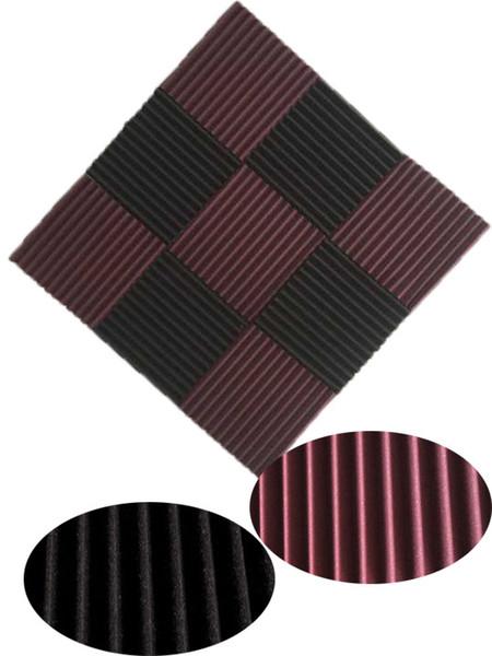 top popular 9pcs 300x 300x 25mm Soundproofing Acoustic Foam Sound Treatment Studio Room Absorption Wedge 2021