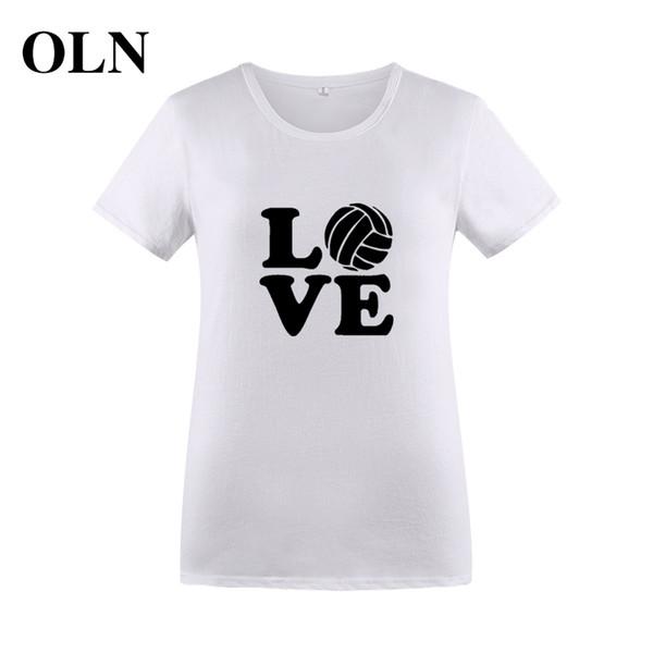 Women's Tee Oln 2018 Love Funny T Shirt Women Korean Style Short Sleeve Summer Tops Tee Shirt Femme Ulzzang Graphic Women T-shirt