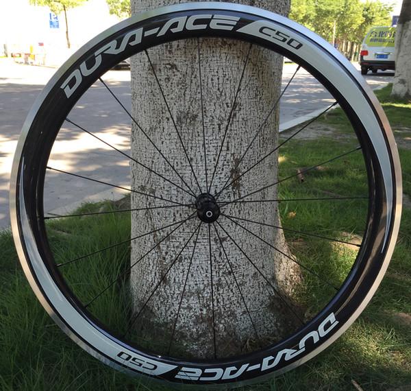 Liga de alumínio freio R36 Ropeço Direto Rc 700C 50mm Clincher Road Bike Roda De Carbono Bicicleta Wheelset