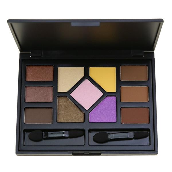 11 Colors Nude Makeup Set Eyeshadow Palette Eyebrow Pallete Kit Shine Matte Eye Shadow Powder Eye Brow Palette Make Up