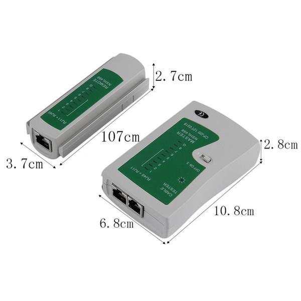 CHL-468 NSHL RJ45 RJ11 RJ11 CAT5 UTP LAN LAN Cable Cable Tester Strumenti di Test a distanza Rivelatore Condizione del Segnale All'ingrosso 20