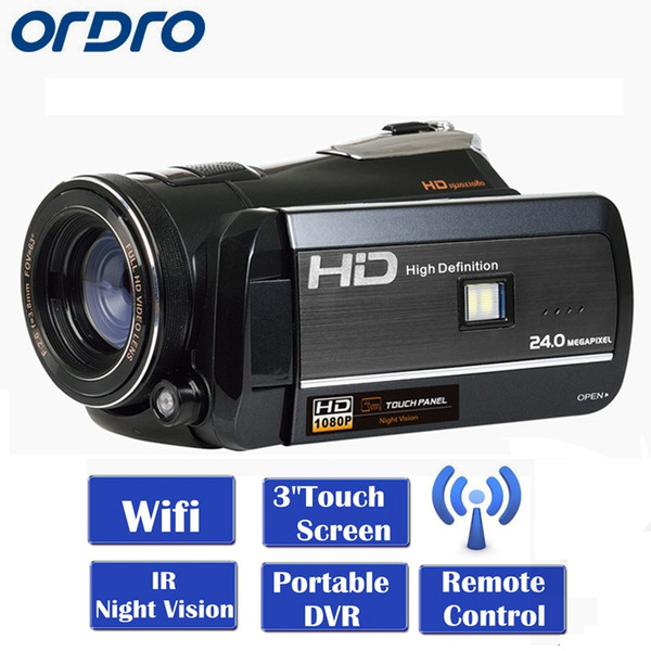 ORDRO HDV-D395 Full HD 1080 P 3.0
