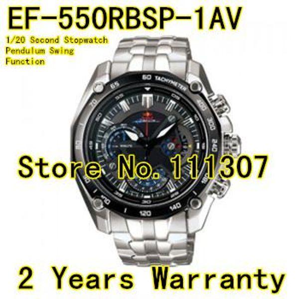 All'ingrosso-EF-550RBSP-1AV Nuovo EF-550RBSP-1A EF 550RBSP 550 Cronografo sportivo da uomo Guarda orologio movimento al quarzo orologio sicuro Funzione Swing