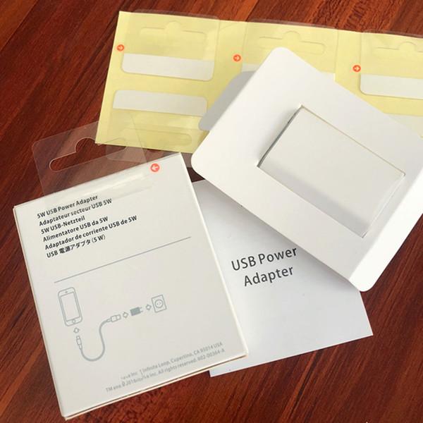 Alta calidad Original A1400 UE Plug USB adaptador de corriente AC cargador de pared para iPhone x 5 6 6s 7 8 más con embalaje DHL Free Ship