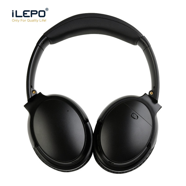 f6a9f7dee36 V12 High End ANC Wireless Headphones Active Noise Cancelling Bluetooth  Gaming Headset Stereo Game Earbuds Bluedio