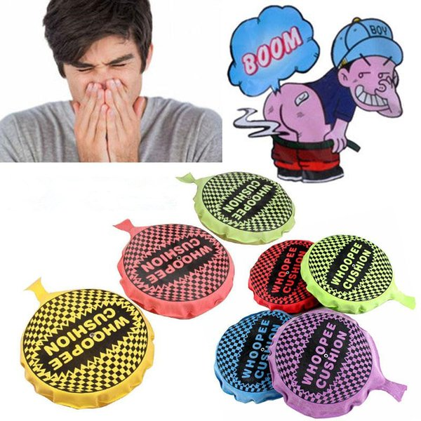 16CM Whoopee Cushion Gags Practical Jokes Toys Prank Toy Joke April Fools Gifts Funny Toy Fart Pad Novelty Toys