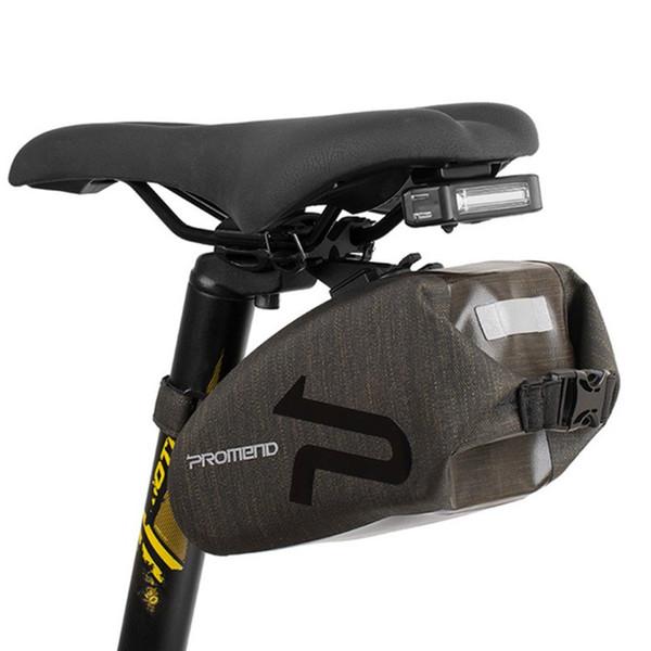 Storage Waterproof Bike Tail Rear Pouch Bicycle Saddle Bag Nylon Cycling