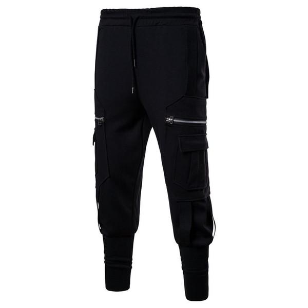 Pantalones deportivos para hombre Pantalones deportivos para hombre Pantalones deportivos deportivos Pantalones de deporte Pantalones deportivos de manga larga Pantalones deportivos para hombres Pantalones deportivos pantalones de chándal J181124