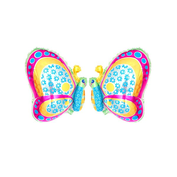 New Half Profile Butterfly Balloons Animal Foil Balloons Wedding Balloons Wedding Decorations Birthday Party Decorations Supplies Heart Balloons
