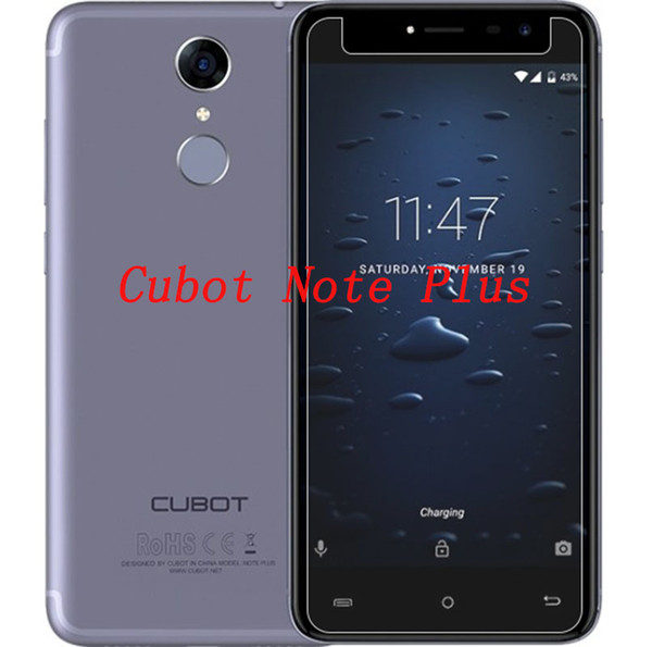 """Smartphone Tempered Glass for Cubot Note Plus 5.2"""" 9H Explosion-proof Protective Film Screen Protector cover phone"""