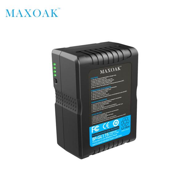 Bateria de iões de lítio MAXOAK V177 V 177Wh Bateria de iões de lítio 12000mAh / 14.8V V-Lock de montagem em V para câmera de vídeo e filmadora