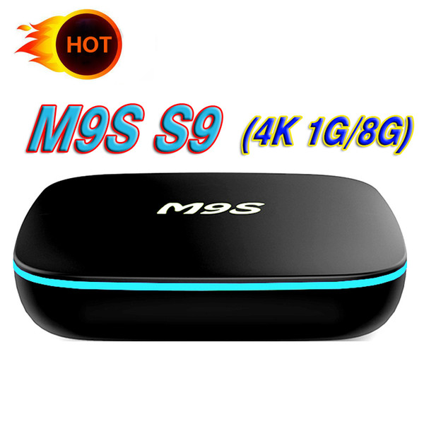 ТВ бокс горячий OEM Андроид 7.1 М9 С9 потокового смарт-ТВ коробка Андроид Отт 4К беспроводной доступ в интернет лучше, чем S905W TX3-мини T95M X96