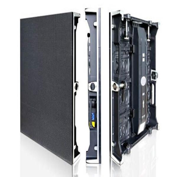 pequena tela de exibição de vídeo P4.81 LED 500mm x 500mm publicidade ao ar livre acrílico levou luz assina carta