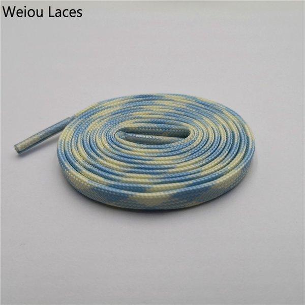 1348 Glow Sky Blue-Glow Yellow 120cm