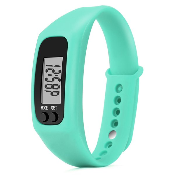 #5001Run Step Watch Bracelet Pedometer Calorie Counter Digital LCD Walking Distance DROPSHIPPING New Freeshipping Hot sales