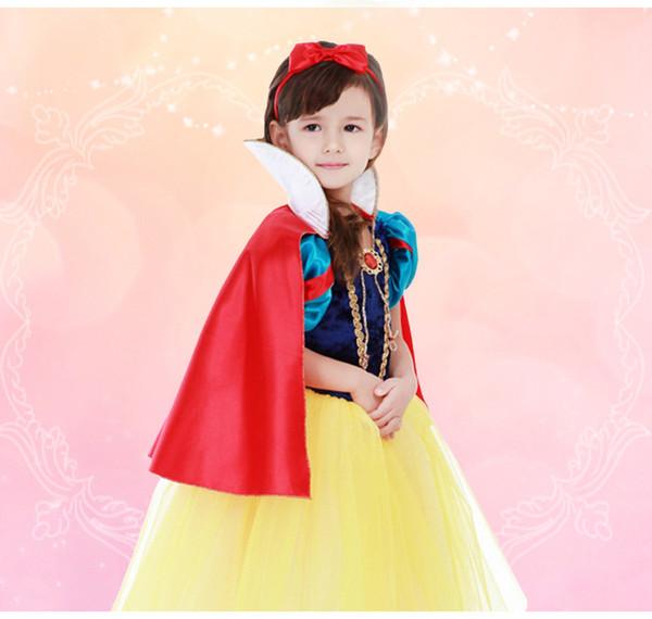 Compre Baby Girl Cosplay Vestido De Fiesta Niños Blancanieves Disfraces Infantiles De Halloween Princesa Disfraces Para Niñas Vestidos A 1639 Del