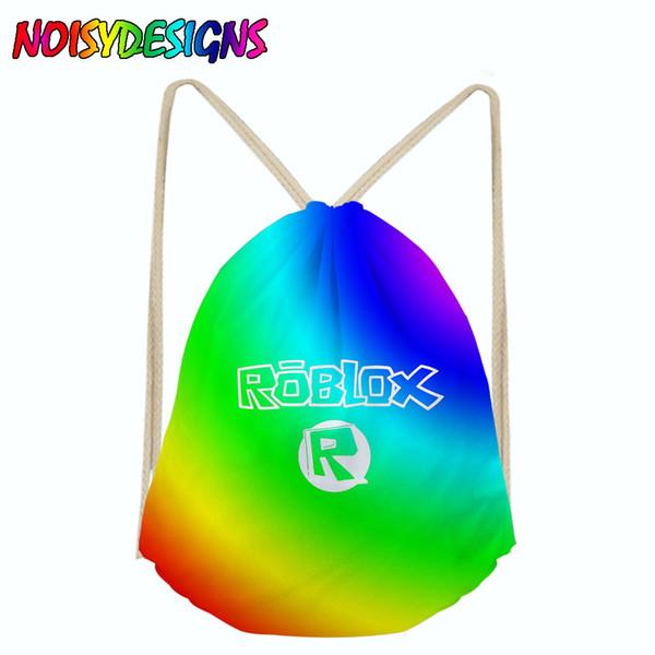 Acheter 3d Roblox Toys Imprimer Sacs A Cordon Pour Hommes Femmes