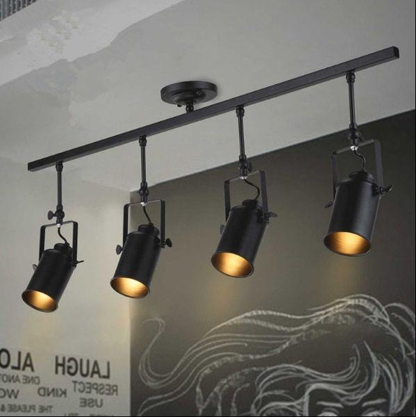 De Minimalista Ropa Retro De Moderno Lámpara A41 Arte Bar Luz Compre Focos Pista Techo De 84 Del Tienda Fondo Lámpara Industrial Espacio Americano BxoedC