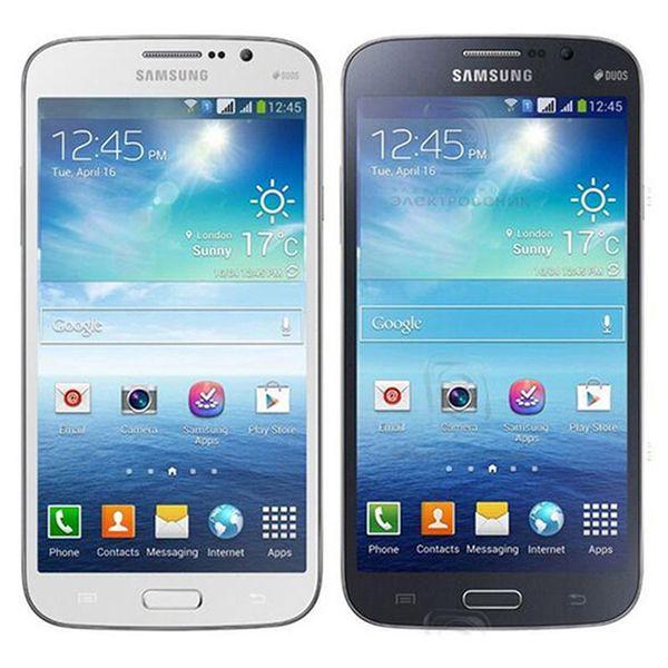 Refurbished Original Samsung Galaxy Mega 5.8 i9152 Dual SIM 5.8 inch Dual Core 1.5GB RAM 8GB ROM 8MP 3G Unlocked Android Phone DHL 10pcs