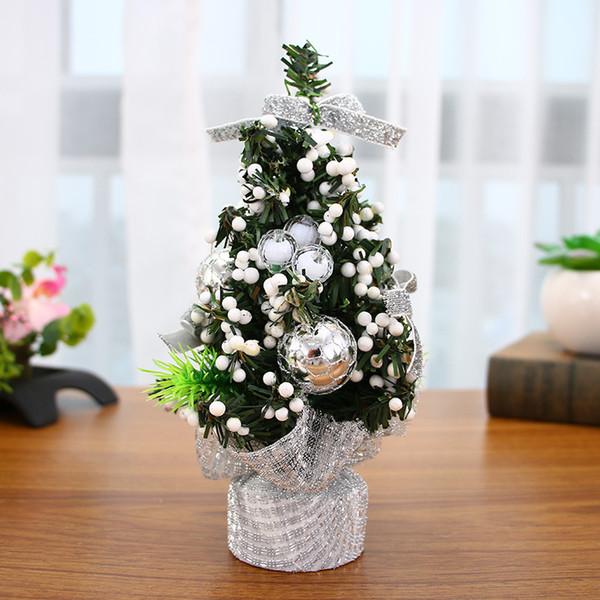 9style Mini Christmas Tree Decoration New Year Christmas Gift Ornament Decor Celebrate Mall Decoration Desktop Ornaments Tree 8b
